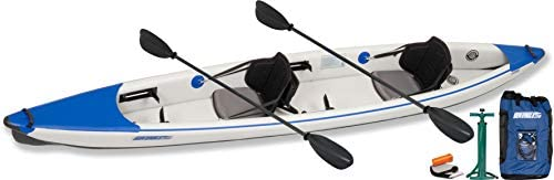 Sea Eagle Razorlite 473rl Inflatable Kayak Pro Carbon Tandem Package