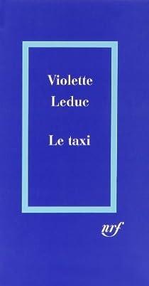 Le taxi par Leduc
