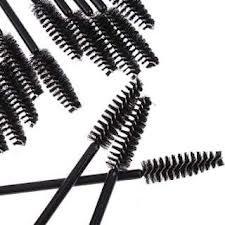 50 Stück Einweg-Wimperntusche Schwarz Wand Applikator-Bürste durch Boolavard ® TM