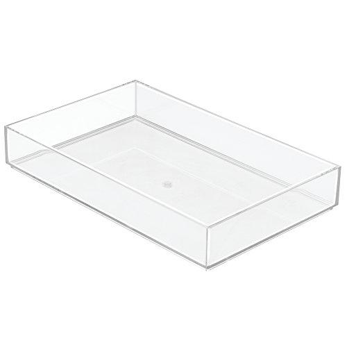 InterDesign Clarity Kitchen Drawer Organizer for Silverware, Spatulas, Gadgets - 8