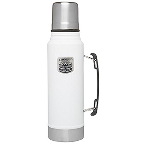 (Stanley Classic Vacuum Bottle Thermos - Special Edition (White))