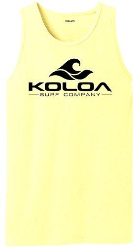 Koloa Surf(tm) Classic Wave Logo Pigment-Dyed Tank (Classic Pigment)