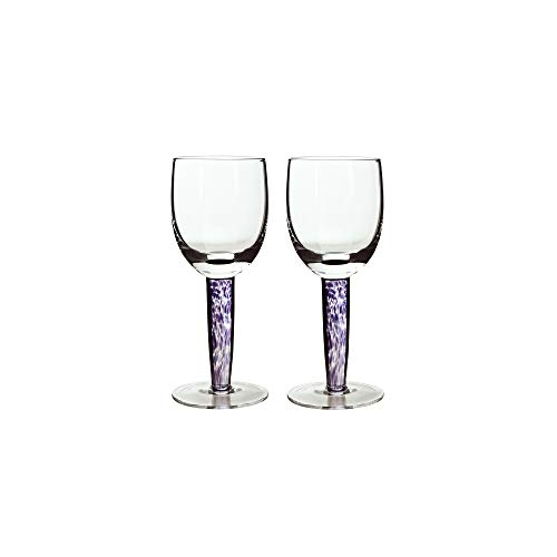 (Denby Amethyst White Wine Glass, Set of)