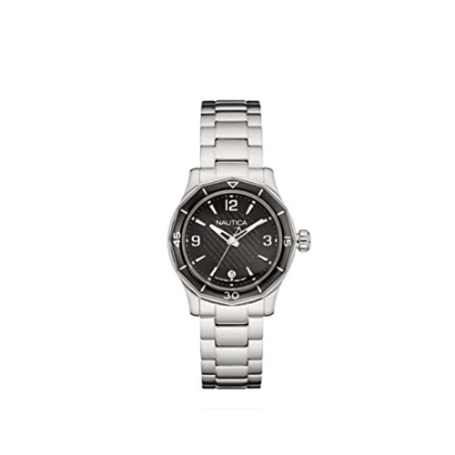 Nautica NSW 01 Black Dial Ladies Watch NAD16531L