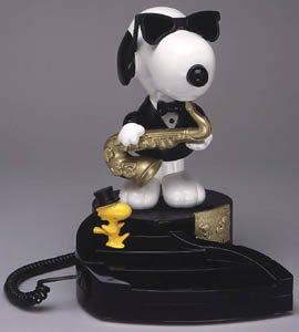 - TeleMania Animated Snoopy Phone
