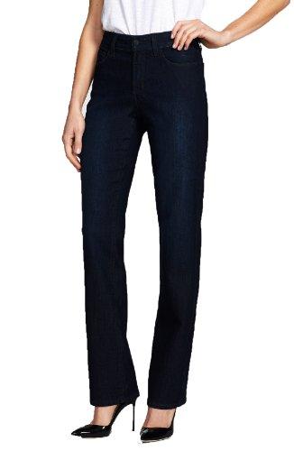 t Leg Dark Blue Denim Jeans Embellished Pocket Size 8 ()