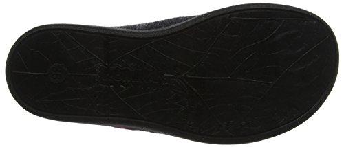 Pantuflas Mehrfarbig kombi 08 schwarz 101 Gomera Mujer Romika Enfvqv