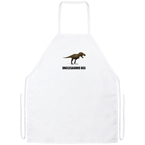 - Pure's Designs Unclesaurus Rex - Funny Cute Uncle Dinosau Gift Tee, Apron