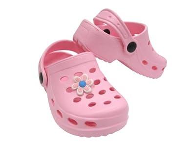 eaf34bc78ff5d Sabot plastique enfant avec pins Rose 27  Amazon.fr  Chaussures et Sacs