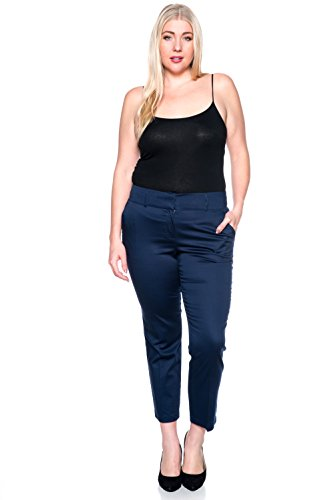 Cotton Lycra Crop Pant - 8