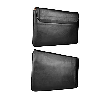 New OEM D3O Ultimate Impact Protection Premium Black Leather Sleeve Case Cover For 10
