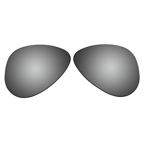 COODY Replacement Polarized Lenses for Ray-Ban RB3044 52mm Sunglasses (Titanium - Rb3044 Polarized