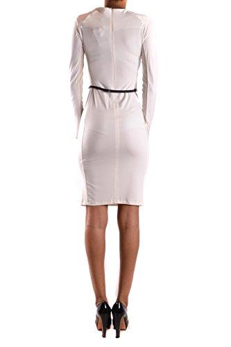 Twin-Set Mujer MCBI302101O Blanco/Negro Poliéster Vestido