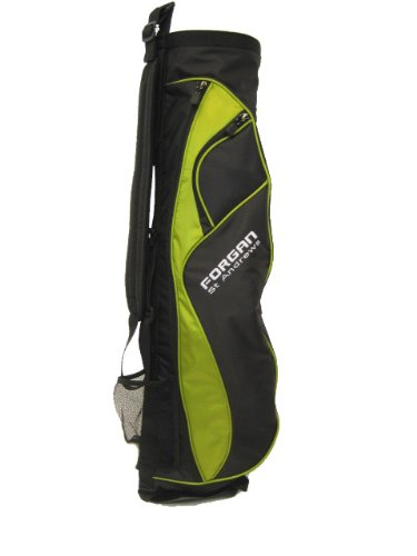 Forgan Green & Black Ultra Light Golf Carry Bag NEW [Misc.]