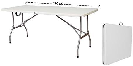 Tavoli Pieghevoli Da Mercatino.Grecoshop Tavolo Pieghevole A Valigetta Piano Hdpe Ideale Per