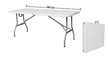 Tavoli Pieghevoli Per Mercatini.Tavolo Pieghevole A Valigetta Piano Hdpe Per Fiere Mercatini E Campeggio Mod Leonardo