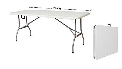 Tavolo Richiudibile A Valigetta.Grecoshop Tavolo Pieghevole A Valigetta Piano Hdpe Ideale Per