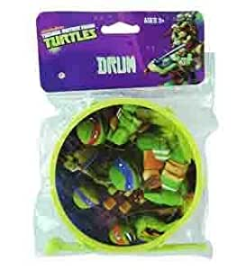 Amazon.com: Teenage Mutant Ninja Turtles Drum 2x4.7 (6 Piece ...