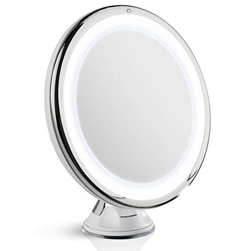 Fancii Daylight LED 10X Magnifying Makeup Mirror - 8.0