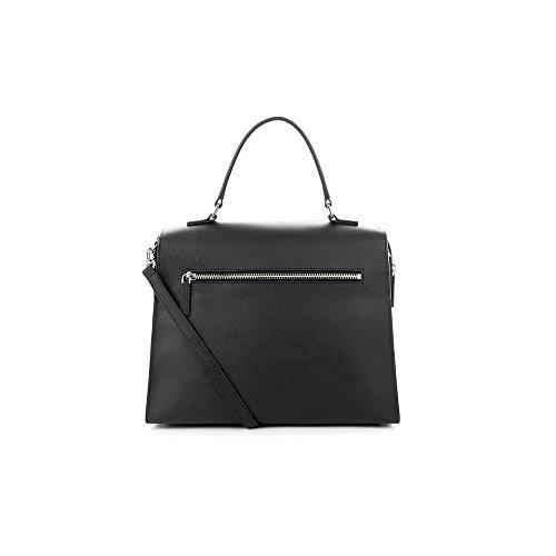 31 Adele Leather Handbag Noir cm Lancaster YgBtpqwt