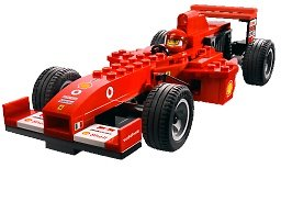lego racers 8362 ferrari f1 racer 1 24 toys games. Black Bedroom Furniture Sets. Home Design Ideas