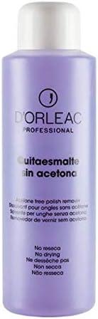 D'Orleac Quitaesmalte Sin Acetona - 1000 ml