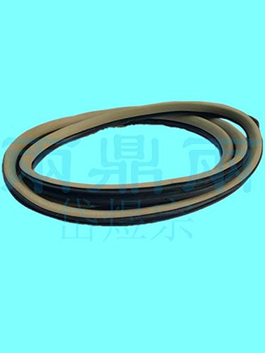 Wipers Front Door Frame Seal Tape Right,Seal,Front Door Opening,Garnish Front Pillar RH for Honda fit HATCHBACK 2003-2007 ()