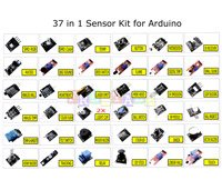 Frentaly® Super Value Ultimate 37 in 1 Sensor Modules Kit for Arduino & MCU Education User