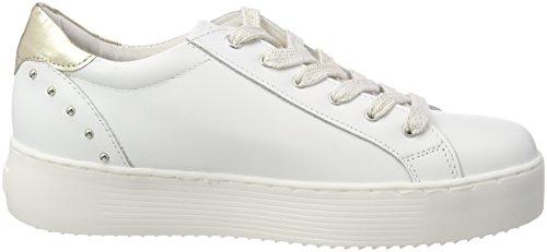 Donna white 23771 Ginnastica Bianco Scarpe Da khaki Basse Tamaris d07qXwq