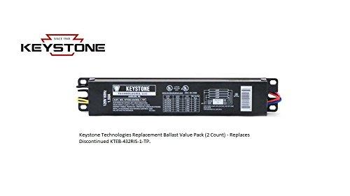 Keystone Replacement Ballast KTEB-432RIS-1-TP-SL Value Pack - (2 Ballast Pack) KTEB-432RIS-1-TP-SL-CP-2