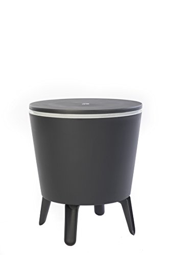 Keter Modern Smooth with Legs Patio Cooler Grey