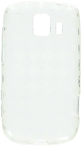 MyBat Argyle Candy Skin Cover for LG LS670 (Optimus S) - Retail Packaging - Clear