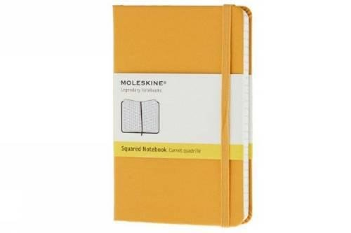 Moleskine Pocket Size Square Hard Notebook - Golden Yellow