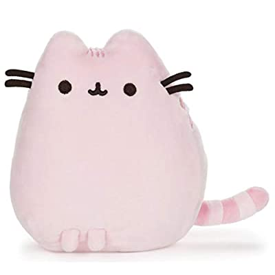 GUND Pusheen Pet Pose Plush Stuffed Animal Cat, Pink, 6