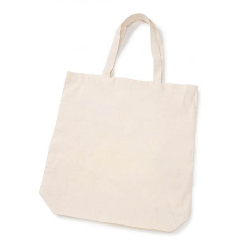(Eco Tote - 100% Cotton - 15 x 16 x 4 inches)
