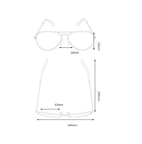 Lunettes Soleil Sunglasses I de des Couleur HD Polarizer G Lunettes XqtTHwO5