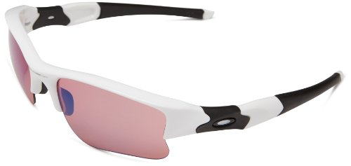 Oakley Men's Flak Jacket Xlj Sport, Polished White Frame/G30 Iridium Lens, One Size ()