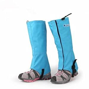 Bluefield Hiking Hunting Waterproof Ski Snow Gaiters (Color&Size: Blue-L)