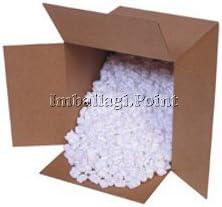1 sac de 0,33 mètres cubes de frites en polystyrène pratique