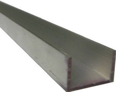 STEELWORKS BOLTMASTER 11385 Aluminium Trim Channel, 3/4 x 96' 3/4 x 96 Standard Plumbing Supply