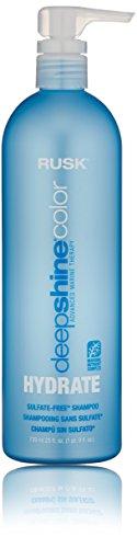 RUSK Deepshine Color Hydrate Sulfate-Free Shampoo,...