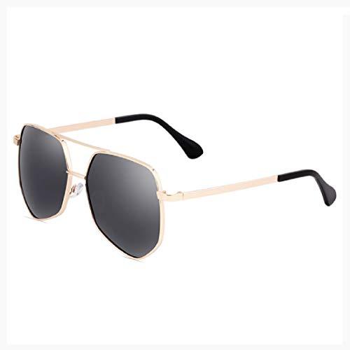 Retro Round Sunglasses for Women's Vintage Style Pilot Mirror Flat Lens Sunglasses Metal Frame Spring Hinge