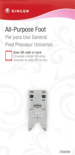 General Purpose Video (SINGER All-Purpose Snap-On Presser Foot for Low-Shank Sewing Machines)