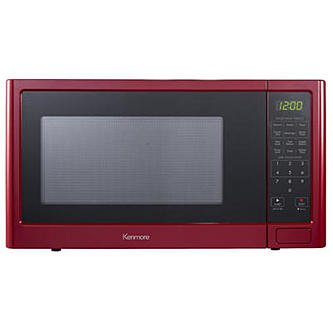 New Kenmore P110N30AP-WJR 1.1 cu. ft. Microwave Oven - Red