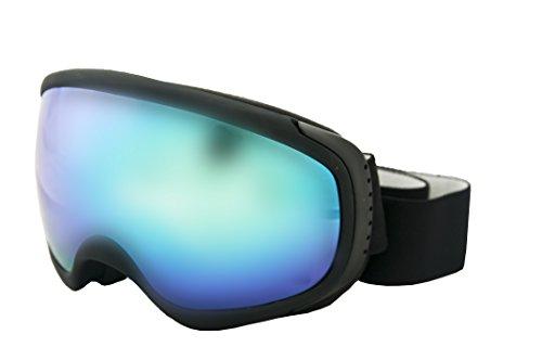 Ocean Sunglasses - Mc Kinley - Masque - Monture : Blanc - Verres : Revo Bleu (YH-3702.1)