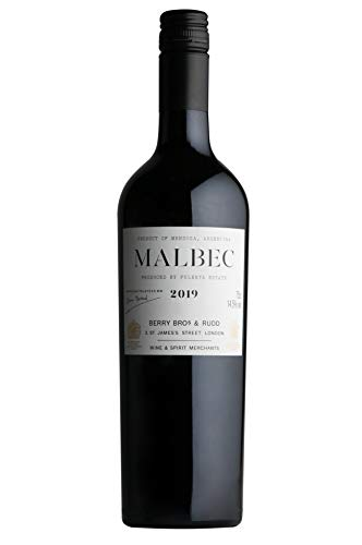 Berry Brothers & Rudd Argentinean Mendoza Malbec Red Wine by Pulenta Estate, 75 cl, 2019-12-8004136