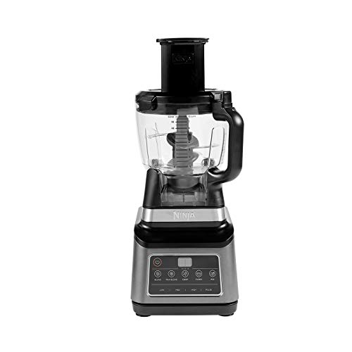 Ninja-BN800EU-Procesador-de-Alimentos-3-en-1-con-Auto-iQ-18-l-Jarra-de-21-l-Vaso-de-07-l-1200-W-21-litros-TritanBPA-Free-Plastic-3-Velocidades-NegroPlata