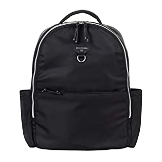 TWELVElittle On-The-Go DiaperBag Backpack 2.0 (Black) - Includes Changing Pad. Large Diaper Bag Backpack for Moms or Dads, Traveller's Diaper Backpack for Baby Products