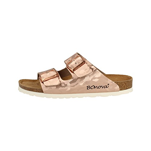 Rosegold BONOVA Mules Femme Schwanberg Camouflage pour Wgqq4nwaH0