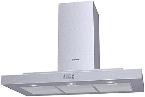 Bosch DKE945N - Campana (Recirculación, 740 m³/h, 69 Db, Montado en pared, Halógeno, 600 Lux) Acero inoxidable: Amazon.es: Hogar